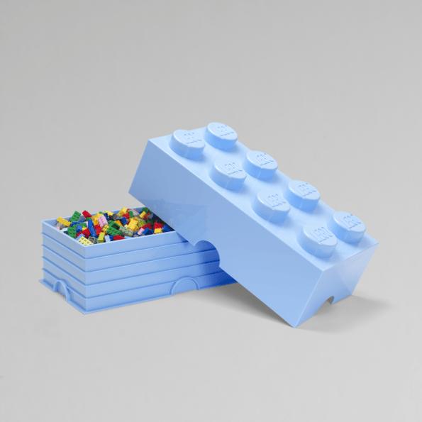 LEGO Opbevaringskasse 8 - Lyseblå