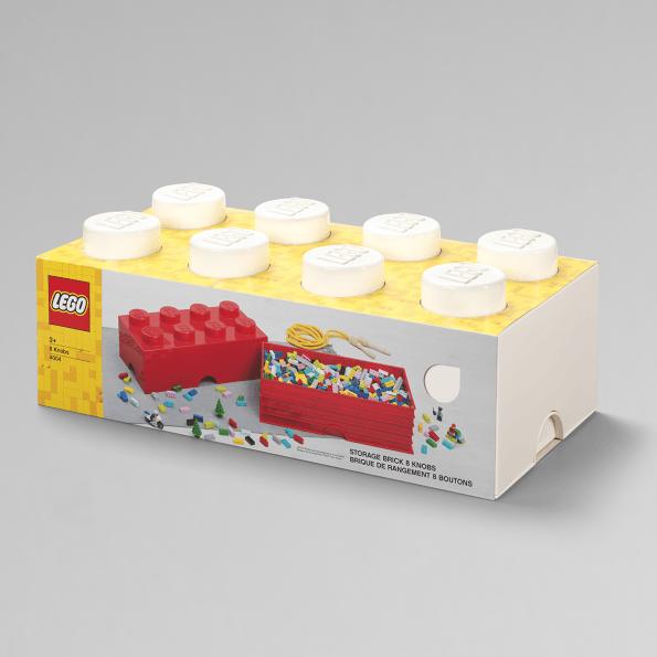LEGO Opbevaringskasse 8 - Hvidx3