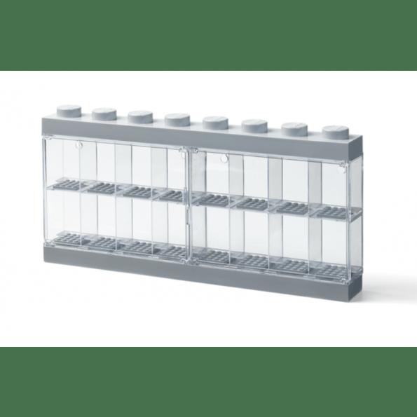 LEGO Storage Minifigu Display Case 16-M - Stone Grey