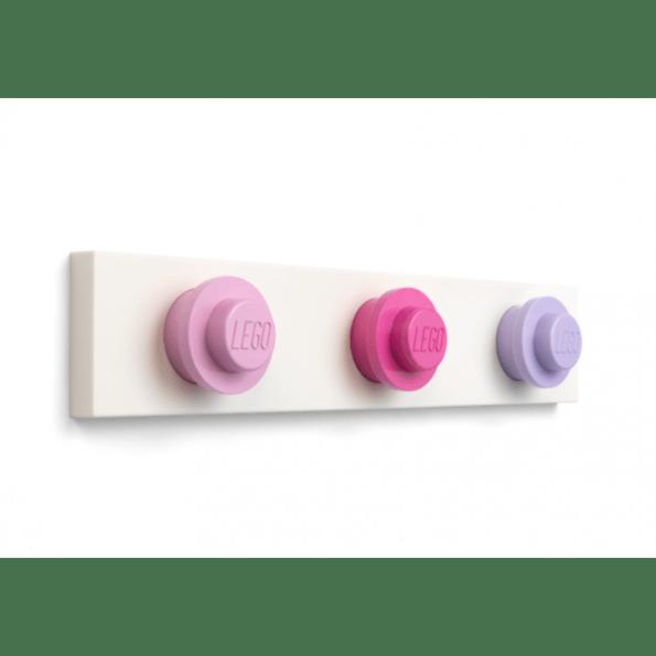 LEGO Storage Wall Hanger Rack-D – Pink/lyserød/lilla