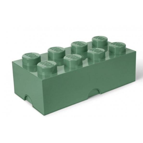 LEGO Opbevaringskasse 8 - Sand-grøn