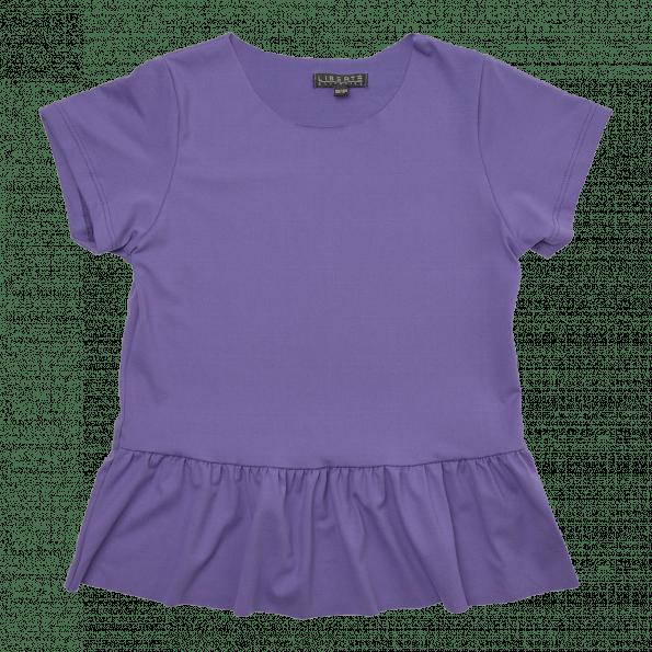 Liberte Alma Frill t-shirt junior – Purple