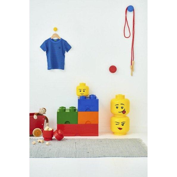LEGO Opbevaringskasse 8 - Sortx3