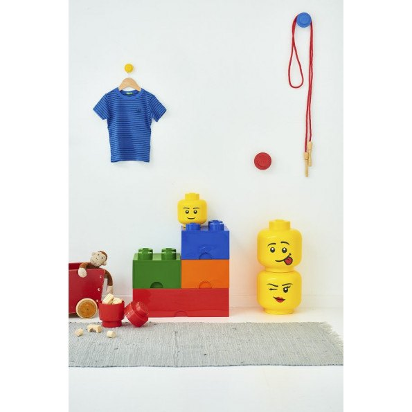 LEGO Opbevaringskasse 8 - Sand-grønx3