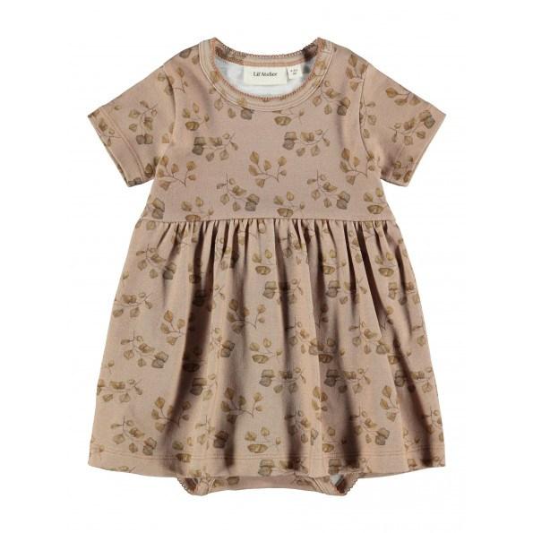 Lil'Atelier Gaya body kjole – Nougat