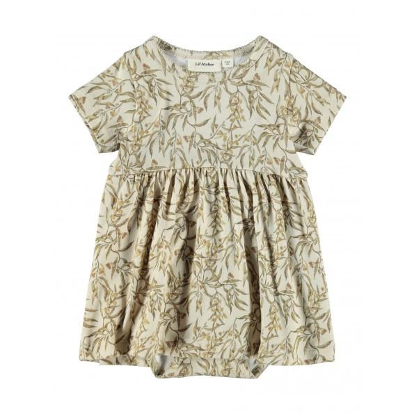 Lil'Atelier Gaya body kjole – Turtledove