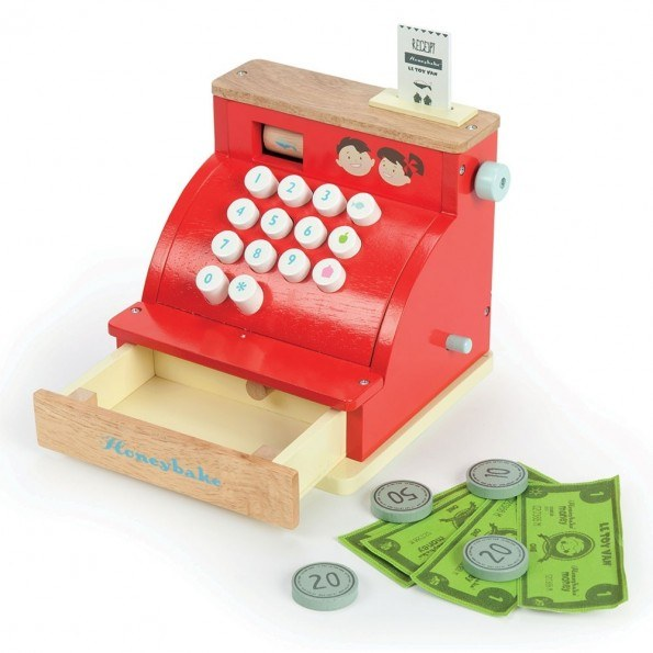 Le Toy Van Kasseapparat - Rød