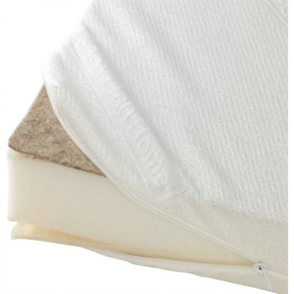 BabyDan Comfort madras til vugge, 40x84 cm - hvid