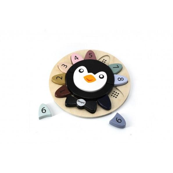 Magni pingvin puslespil
