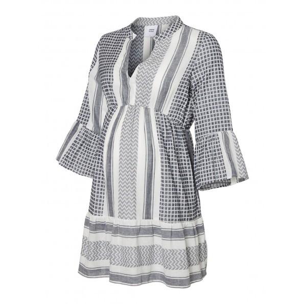 Mamalicious kort kjole - navy blazer