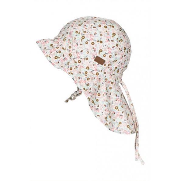 Melton sommerhat m. mønster - Pearl Rosa