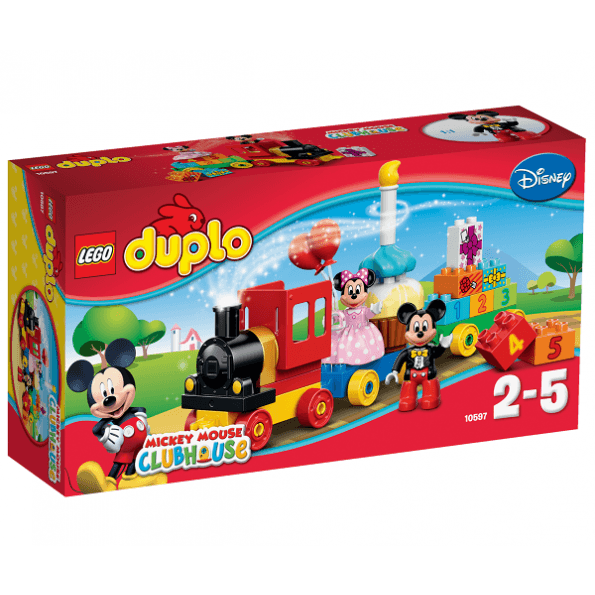 LEGO DUPLO - Mickey & Minnies Fødselsdagsoptog - 10597