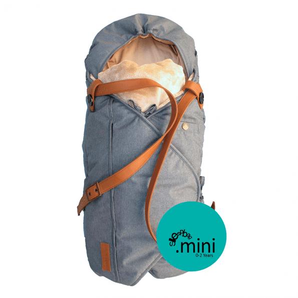 Sleepbag Mini Kørepose - Grey melange