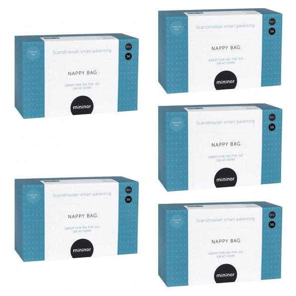 Mininor bleposer parfumefri 5 pakker
