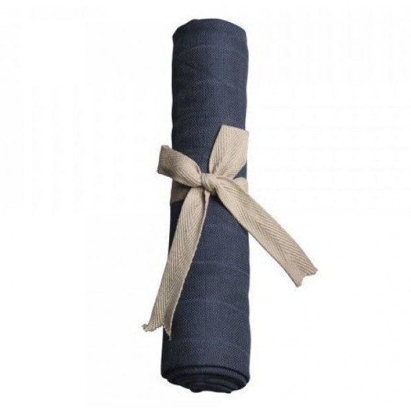Filibabba Muslin Stofble - Twilight Blue