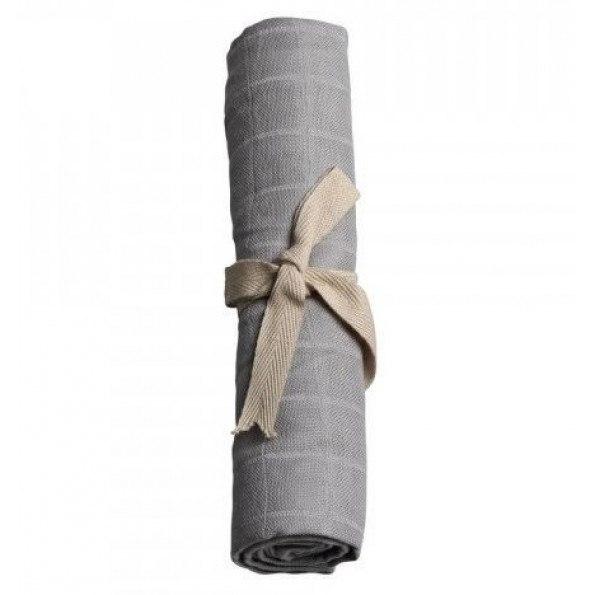 Filibabba Muslin stofble - Medium Grey