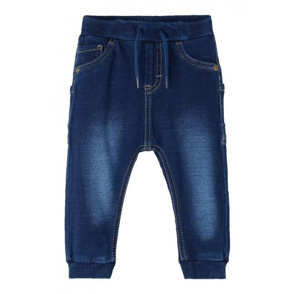 Name It Romeo sweat denim jeans - Dark Blue Denim