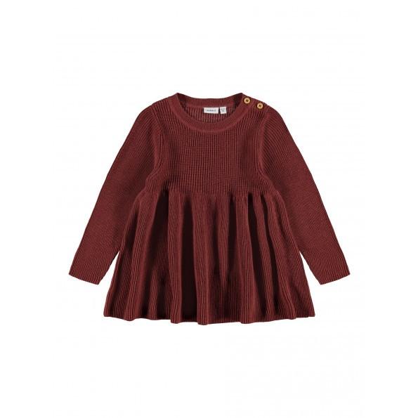 Name It Odress kjole - Spiced Apple