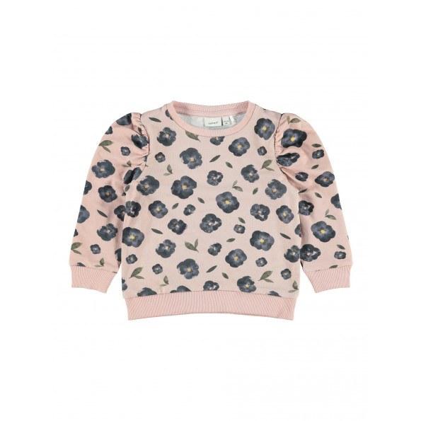 Name It Davi sweatshirt - Adobe Rose