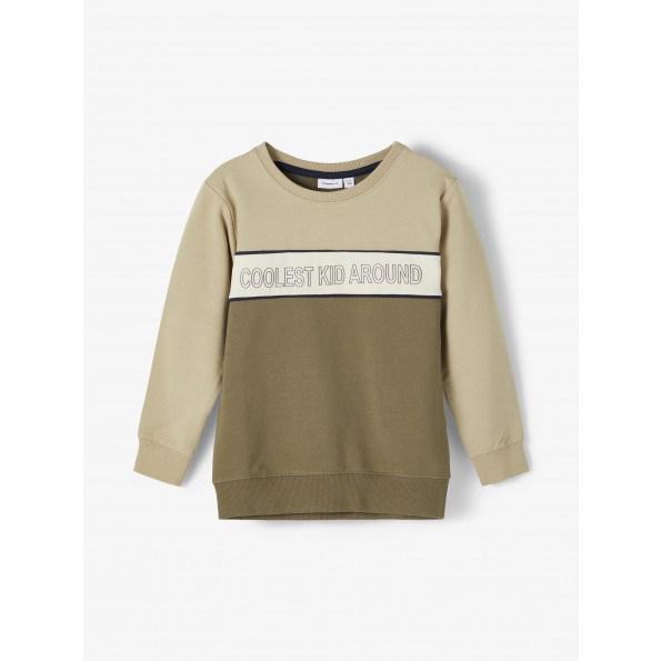 Name It sweatshirt - Ivy Green