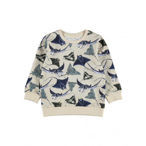 Name It Faray sweatshirt - Peyote Melange
