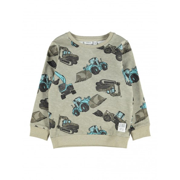 Name It Donni sweatshirt - Silver Sage