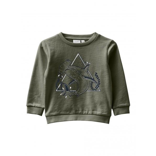 Name It sweatshirt m. print - Ivy Green