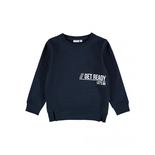 Name It Dassi sweatshirt - Dark Sapphire