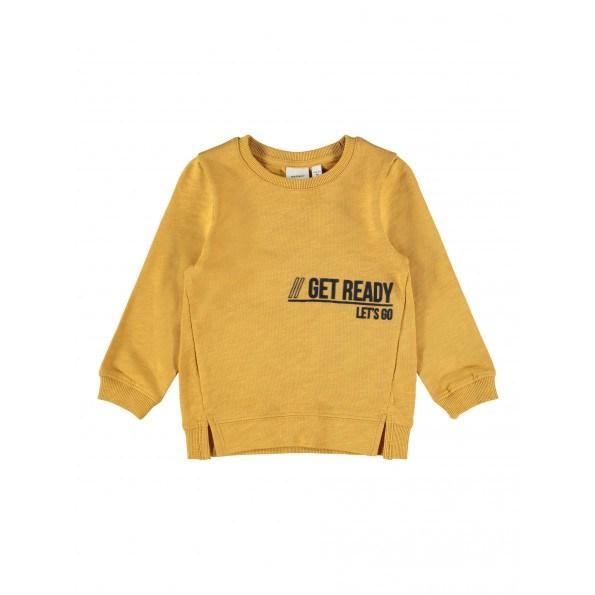 Name It Dassi sweatshirt - Spruce Yellow