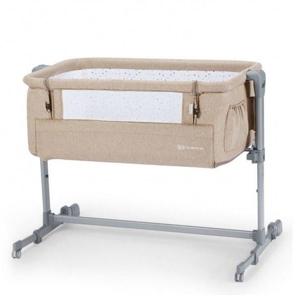 Kinderkraft Bedside Crib Neste UP -  Beige