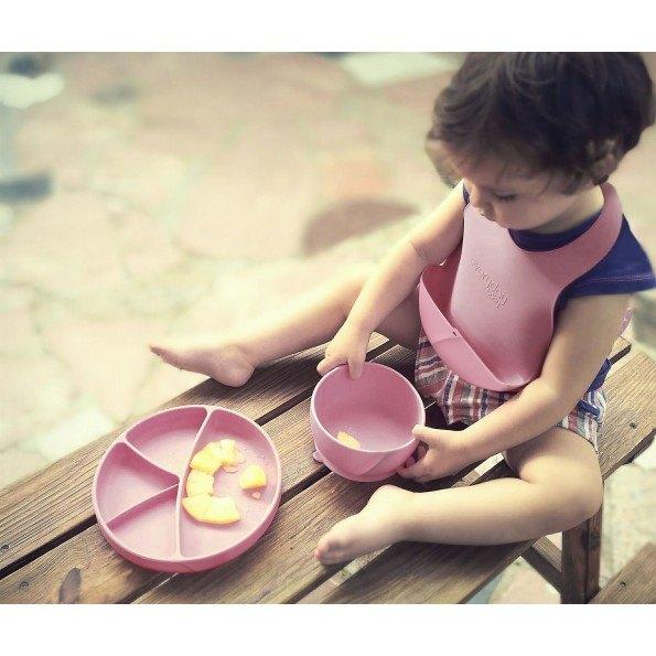 Everyday Baby - Silikone Hagesmæk, 1 stk - Lys lilla