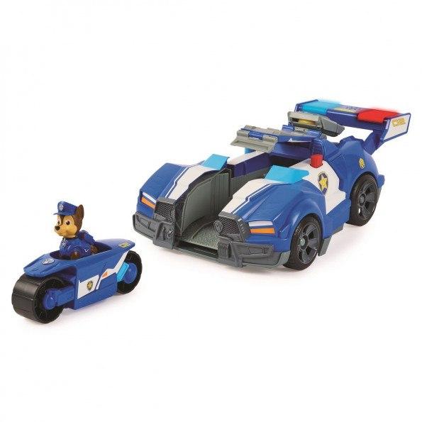 Paw Patrol Movie Chase Transforming legetøjsbil