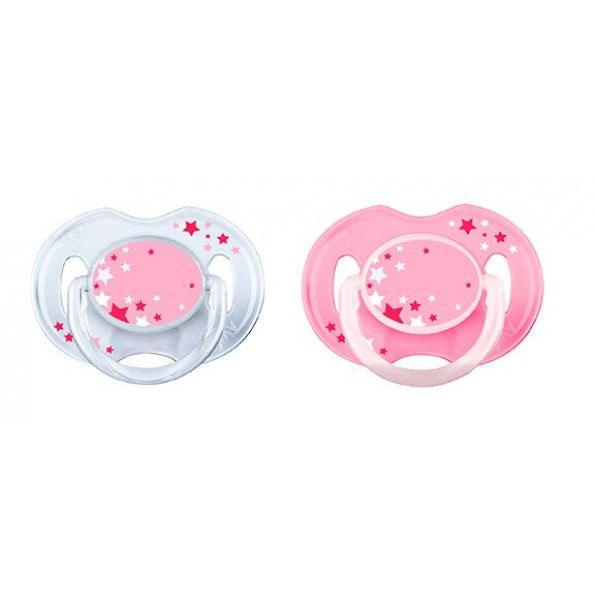 Philips AVENT Nat selvlysende 0-6m, Pink