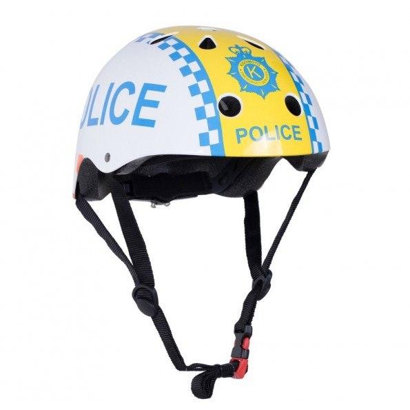 Kiddimoto Hjelm - Str. S, Police
