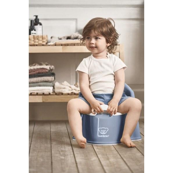 Baby Björn pottestol - blå