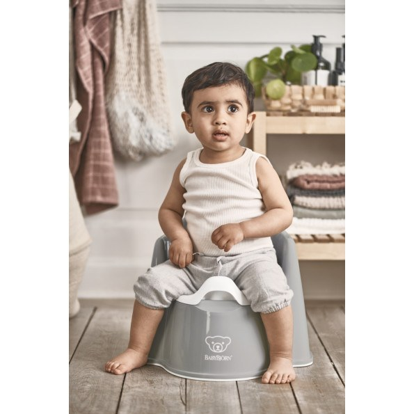 Baby Björn pottestol - grå