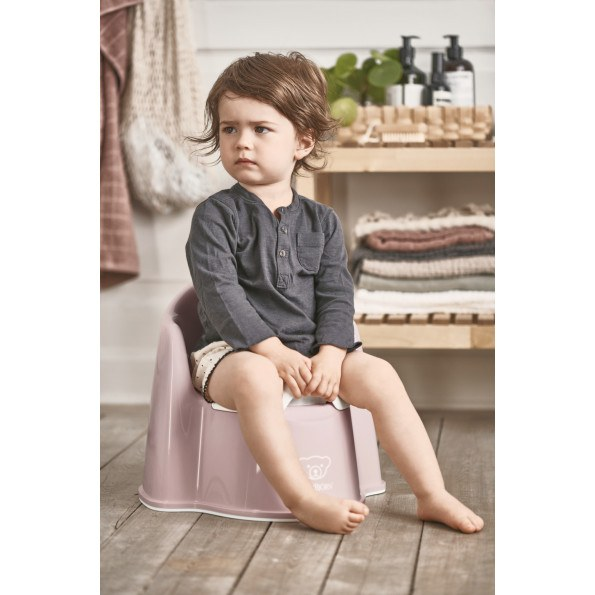 Baby Björn pottestol - rosa