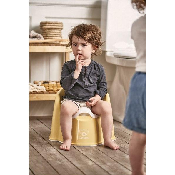 Baby Björn pottestol - gul