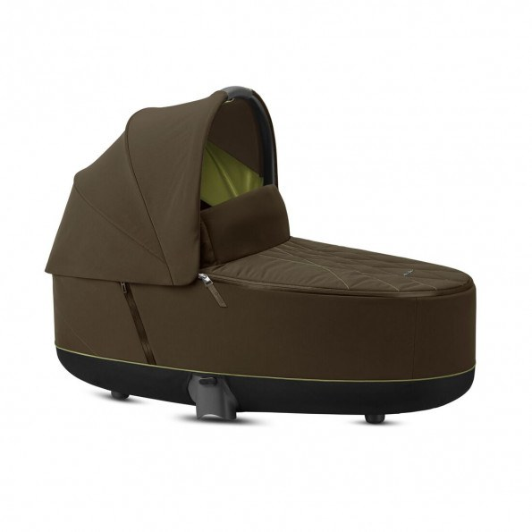 Priam Lux Carry Cot - Khaki Green