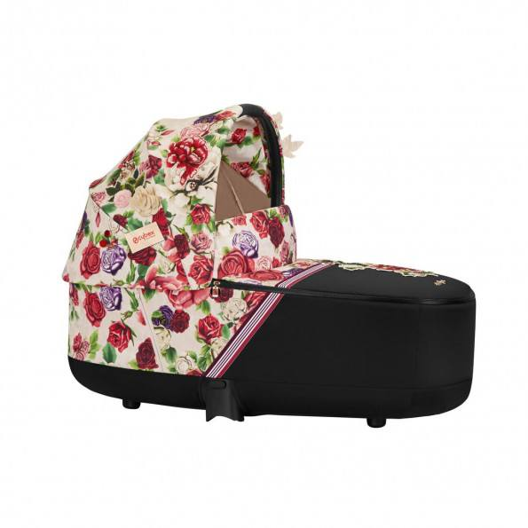 Priam Lux Carry Cot Fashion Edition - Spring Blossom Light