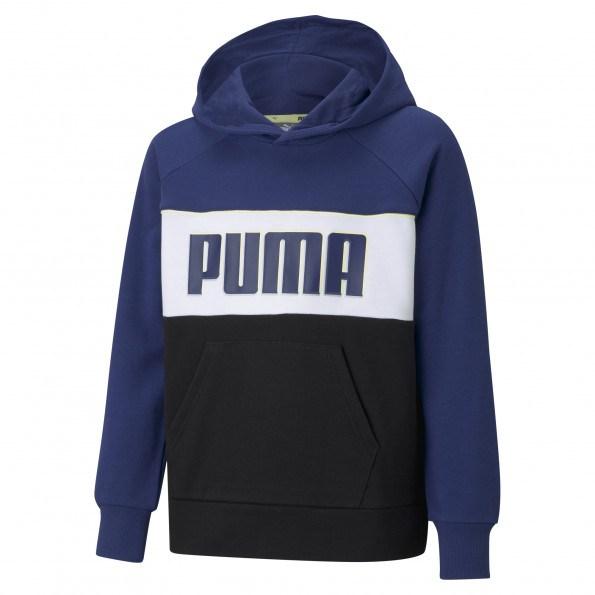 Puma Alpha TR B hættetrøje – Elektro Blue