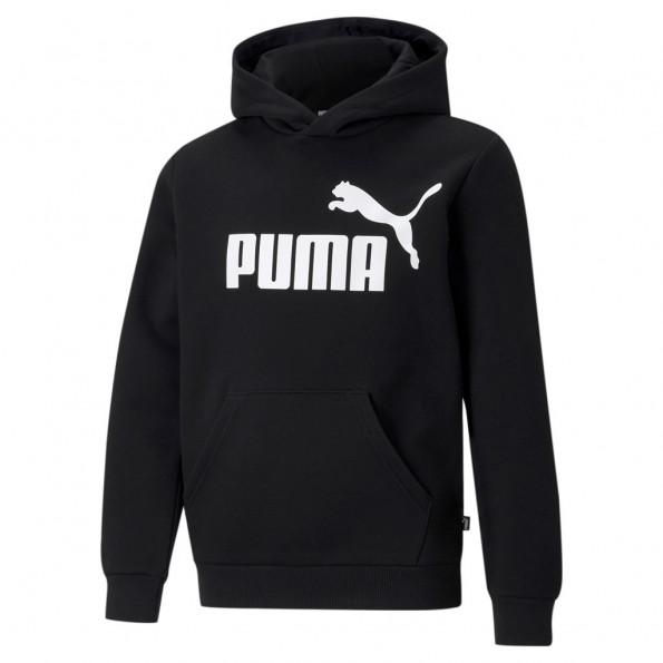 Puma ESS Big Logo hættetrøje - Black