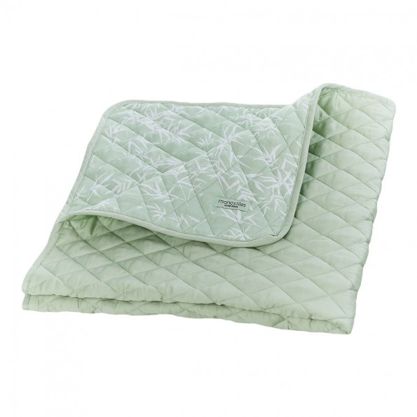 Manostiles quilt tæppe - Soft Matcha
