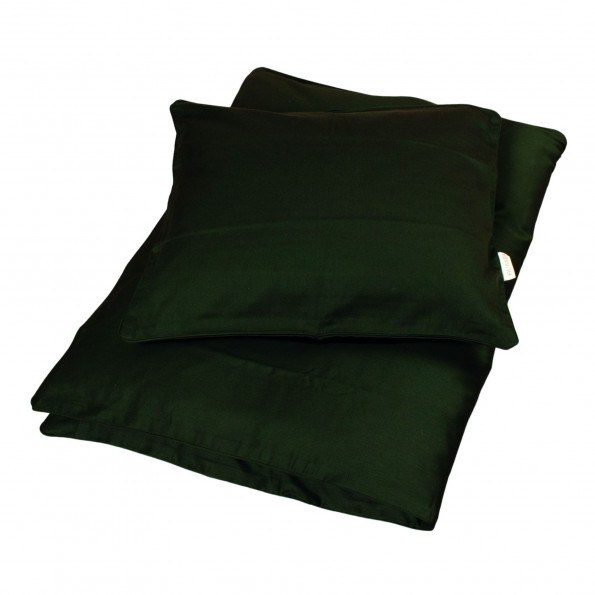 Filibabba babysengetøj 70x100cm sateen - dark green