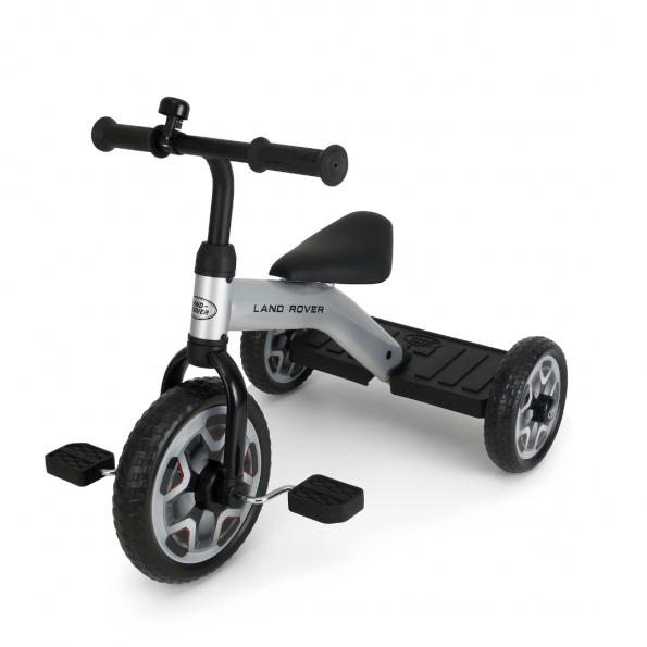 Rastar Land Rover 3-hjulet cykel – grå