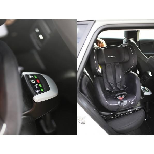 Recaro Zero 1 i-size - Performance Black Autostol