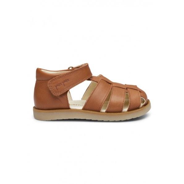 Pom Pom Sandal - Camel