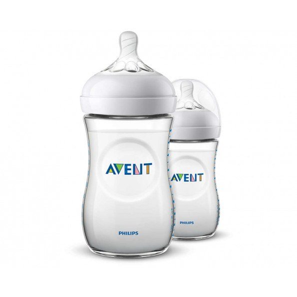 Philips Avent Natural 2 stk. sutteflasker - 260 ml.