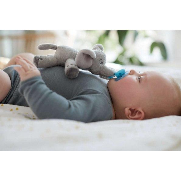 Philips Avent Snuggle elefant med sut