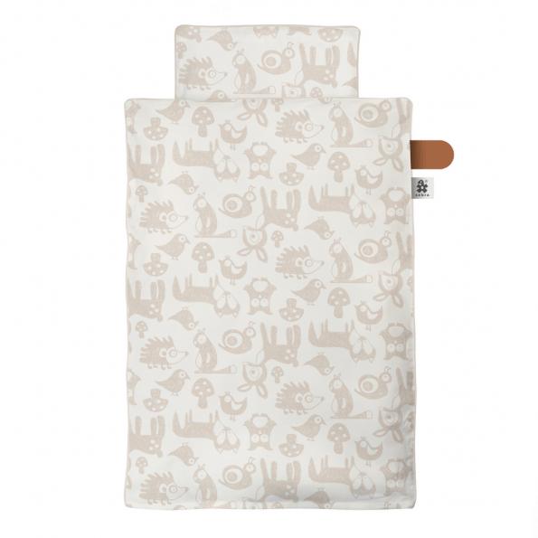 Sebra Forest Babysengetøj - Straw Beige